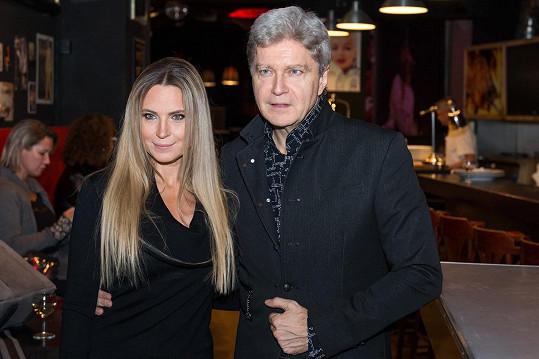Erika Judinyová a herec Štefan Skrúcaný jsou manželé od roku 2015.