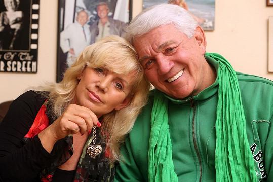 Jiří Krampol a Hana Krampolová (2012)