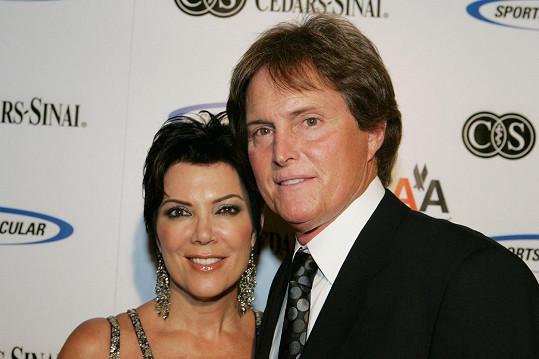 Jako Bruce s manželkou Kris