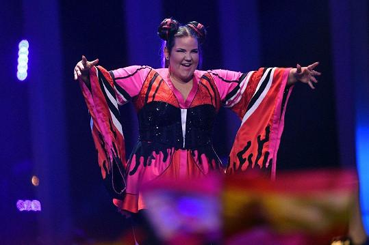 Zpěvačka Netta vyhrála Eurovizi.
