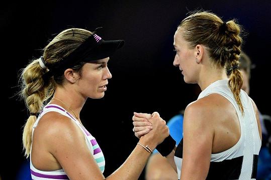 Kvitová porazila Američanku Danielle Collins.