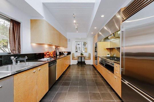 Kuchyň je opravdu luxusní.