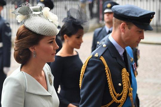 Kate vypadala jako vždy dokonale.