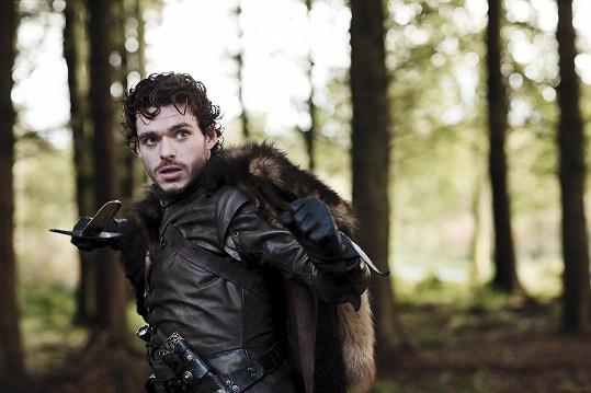 Richard jako Robb Stark ve Hře o trůny