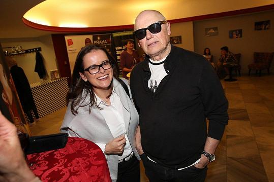 Jiří Korn s manželkou Renatou