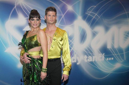 ...Ten ve StarDance tančil s Jitkou Čvančarovou.