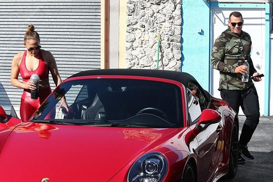 Porsche dostala od snoubence k padesátinám.