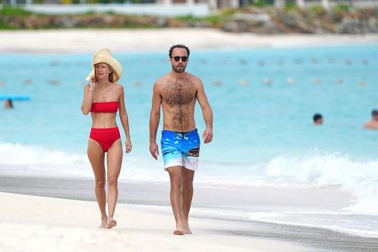 James Middleton vyrazil na dovolenou se snoubenkou.