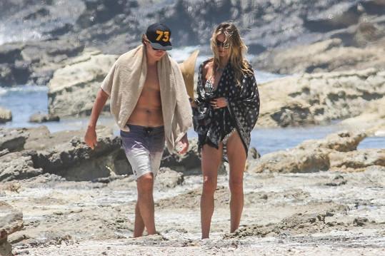 Heidi Klum se svým zajíčkem Vitem Schnabelem