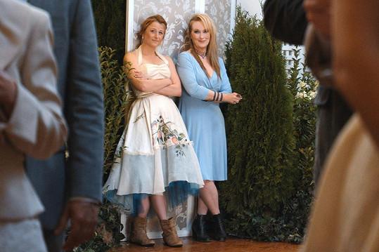 Meryl Streep si ve filmu Nikdy není pozdě zahrála s dcerou Mamie.