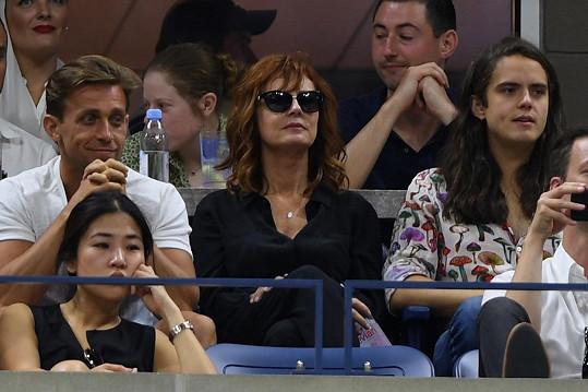 Susan s novým milencem na US Open