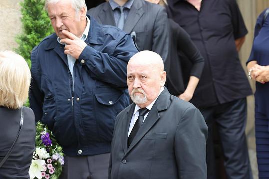 Přišel i herec Ota Jirák.