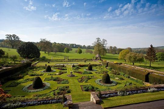 Zahradu navrhoval renomovaný architekt.