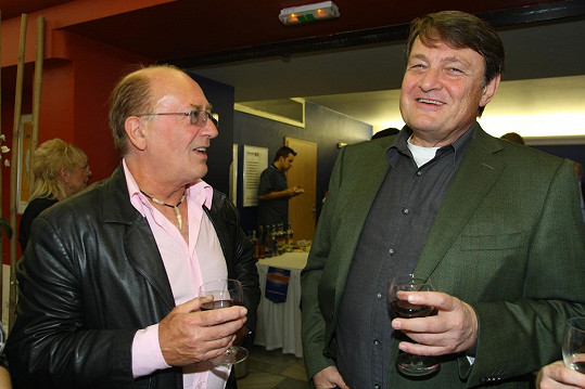 Znali se od dětství, oba vyrostli na pražských Vinohradech.
