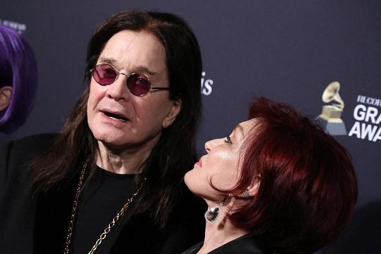 Ozzy Osbourne s manželkou Sharon