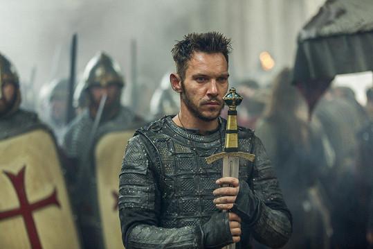 Jonathan Rhys Meyers v seriálu Vikingové