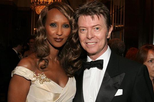 Iman s Davidem Bowiem