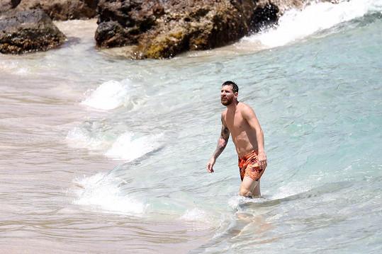 Lionel Messi je ve skvělé kondici.