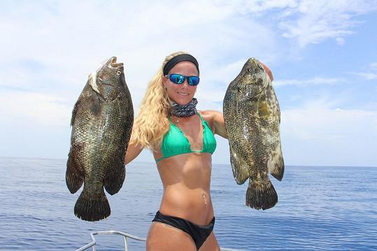 Tuhle sexy rybářku mají na Floridě.