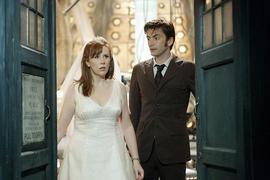 David Tennant se proslavil seriálem Pán času (Doctor Who).