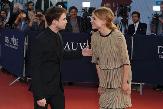 S Danielem Radcliffem si měli hodně co říct.