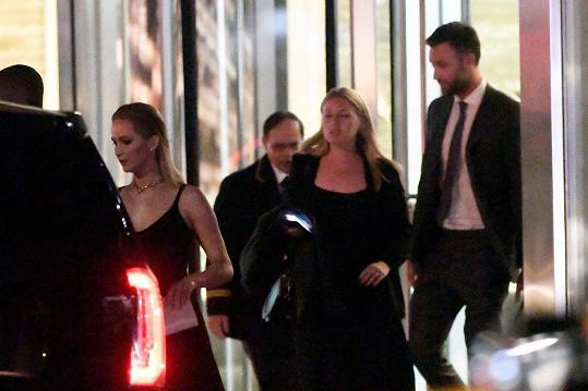 Společně zavítali i na premiéru filmu, kde hraje hereččin bývalý partner.