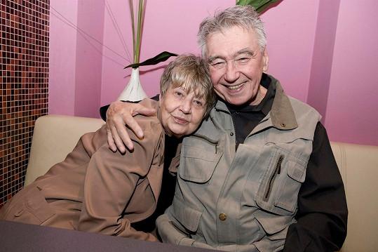 Marie Kyselková a Josef Zíma, představitel prince Radovana, v roce 2009
