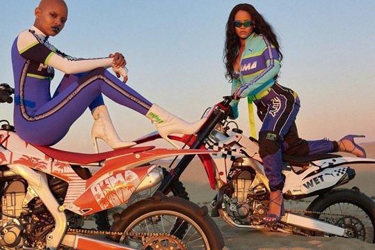 Woods je hlavní modelkou kampaní zpěvačky Rihanny.