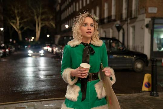 V kinech je nyní k vidění v komedii Last Christmas.