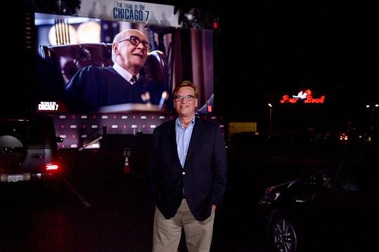 Aaron Sorkin za scénář a režii filmu Chicagský tribunál.