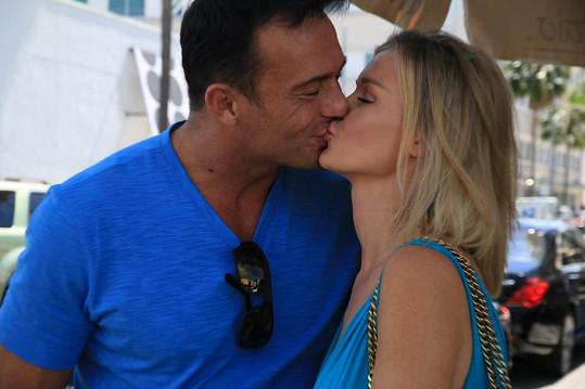 Joanna a její manžel Romain Zago