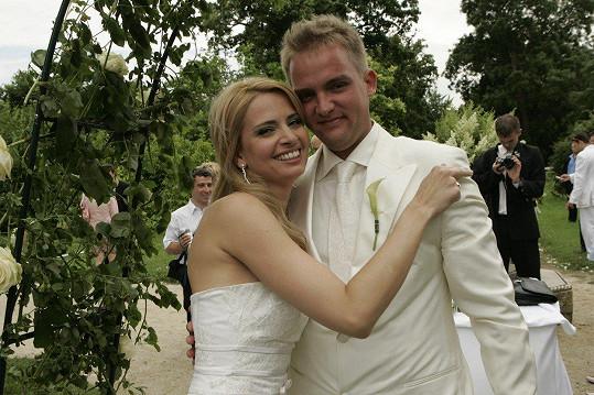 Marianna Ďurianová a Libor Bouček se brali po krátké známosti v roce 2006.