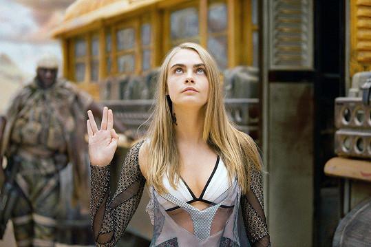 A jako herečka ve filmu Valerian a město tisíce planet
