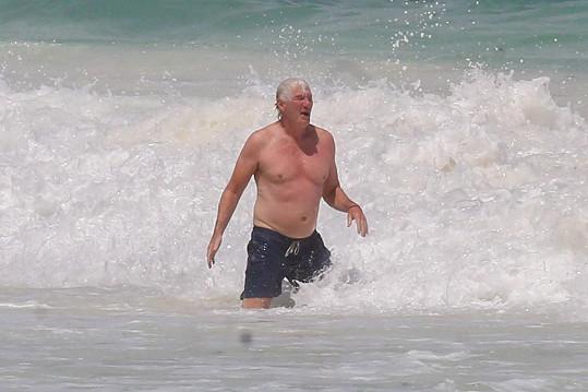 Richard Gere na dovolené v Mexiku