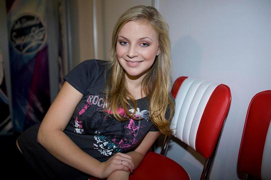 Markéta Konvičková v roce 2009 během SuperStar