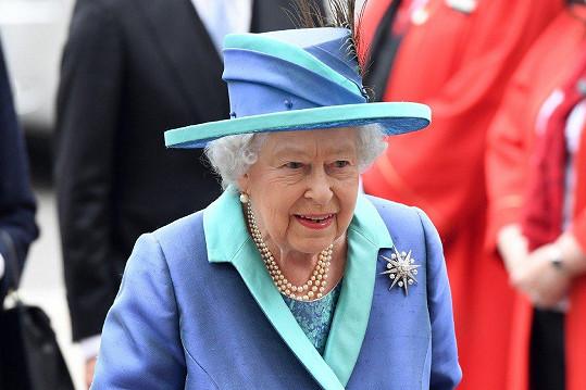 I královna se oslav účastnila.