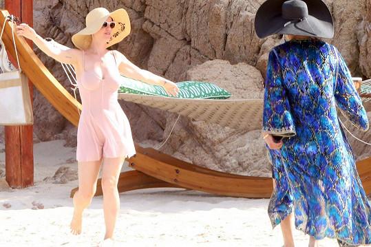 Katy Perry na dovolené v Mexiku