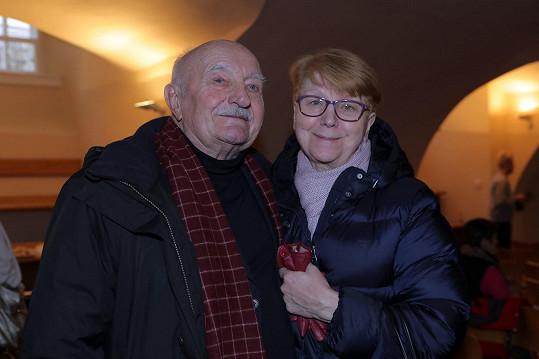Josef Somr s manželkou Jaroslavou