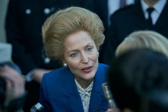 Jako Margaret Thatcher v Koruně