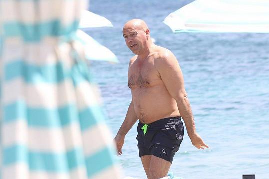 Billy Zane trávil dovolenou na řeckém ostrově Mykonos.