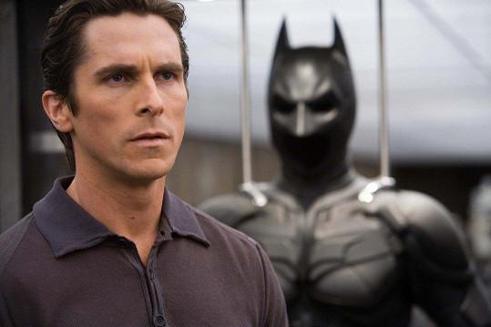 Christian Bale ho ztvárnil ve třech filmech.