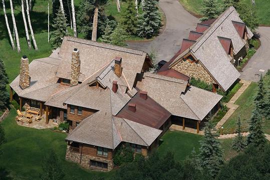 Hercovo sídlo v Coloradu je na prodej.