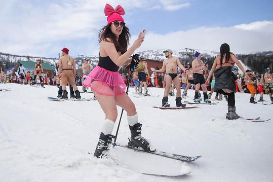 Na lyžích...