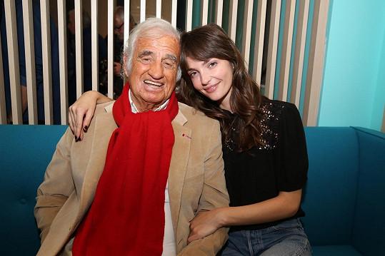 Annabelle s dědečkem loni v říjnu