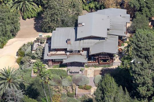 Rezidence Brada a Angeliny v Los Angeles