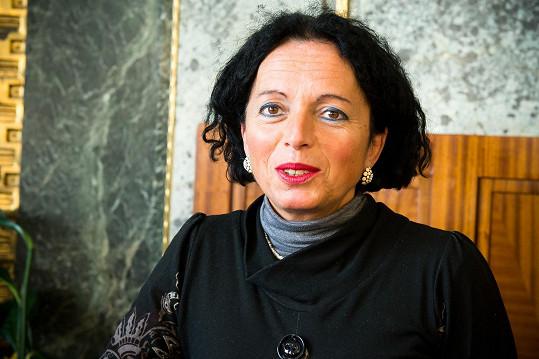 Vida Neuwirthová v roce 2015