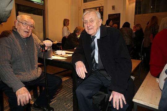 Ivo Niederle (vpravo) s Karlem Urbánkem