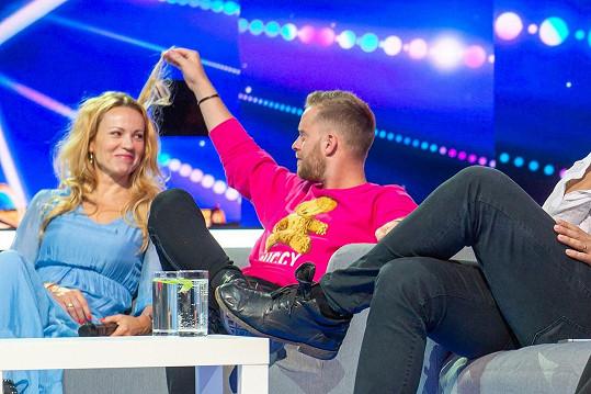 Laškovali spolu i během show Česko Slovensko má talent. Šlo prý ale pouze o přátelství.