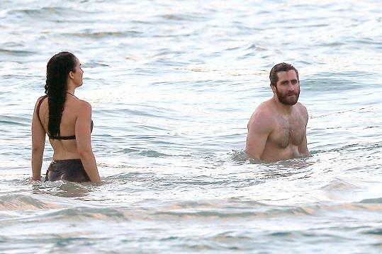Jake a Greta si užívali dovolenou na ostrově Svatý Bartoloměj.