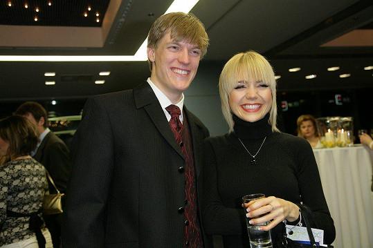 Tomáš Verner s Lucií Vondráčkovou